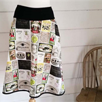 Olive Skirt Cotton Skirt Pocket Skirt Summer Skirt